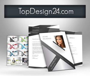 bewerbung deckblatt design
