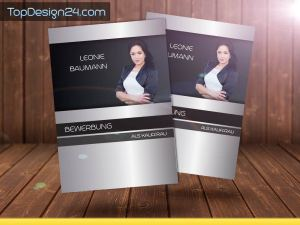 Design Bewerbung Deckblatt