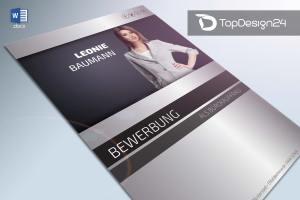 Deckblatt Bewerbung Design download