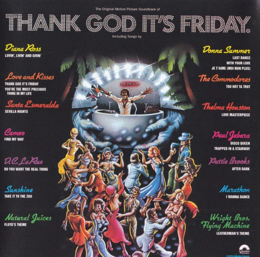 Soundtrack - Thank Good It's Friday - Topdisco Radio
