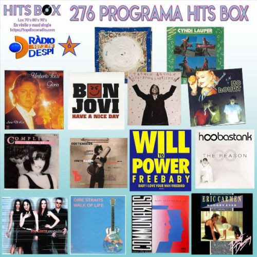 276 Programa Hits Box - Topdisco Radio - Dj- Xavi Tobaja