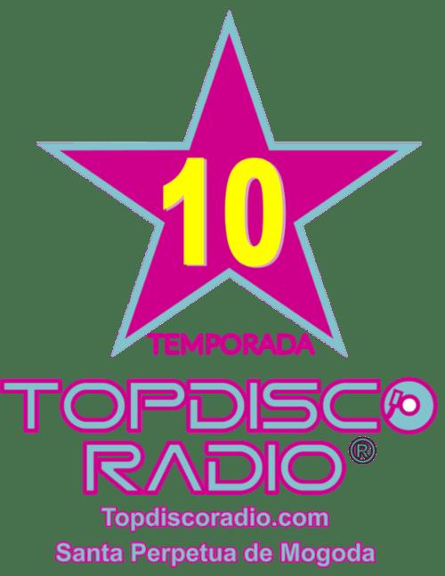 LOGO 10 TEMPORADA TOPDISCO RADIO