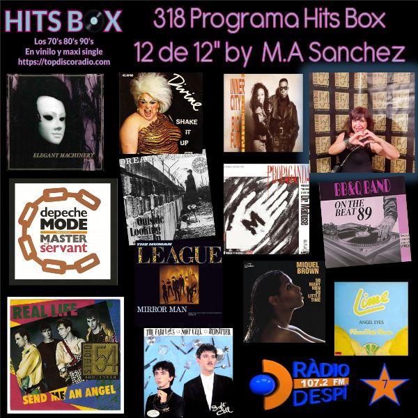 318 Programa Hits Box - M.Angeles Sanchez - Topdisco Radio - Dj. Xavi Tobaja