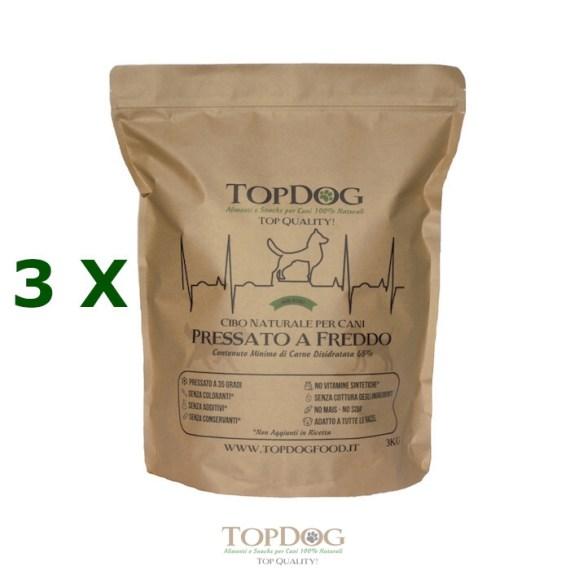 Top Dog cibo per cani Pressato a Freddo