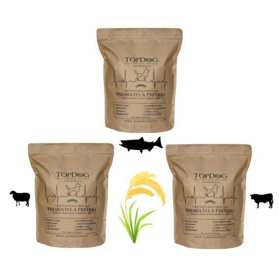 cibo naturale per cani