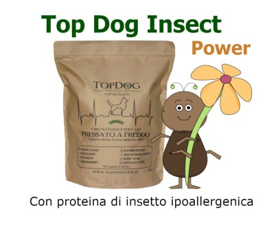Top Dog con Proteina di Insetto Grain Free