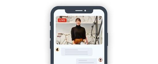 يتيح لك LinkedIn Live التواصل مع مجتمعك في الوقت الفعلي.