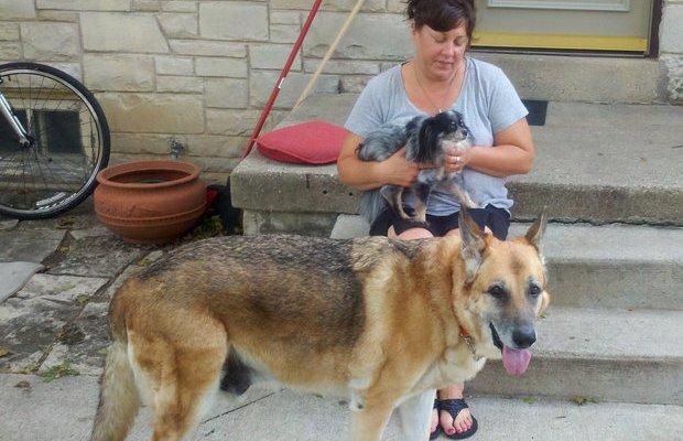 Police Dispatcher Adopts Dog After Owner Dies
