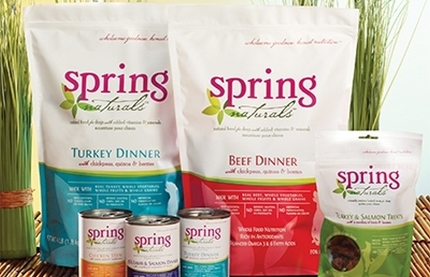 Spring Naturals Donates 200,000 Pounds of Dog Food