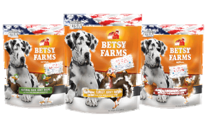Betsy Farms Debuts New Made in the USA Dog Treats