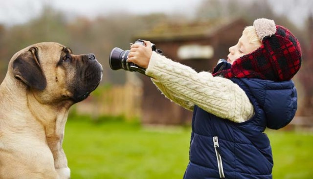 How to Take Great Photos of Your Dog and Let Your Kids Do It