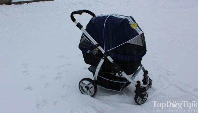 IBIYAYA Pet Stroller for Dogs Review