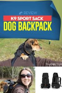 Review of K9 Sport Sack Dog Backpack