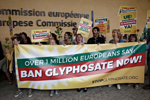 Glyphosate banned in Europe