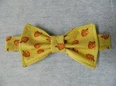 Fall Acorn Dog Bow Tie
