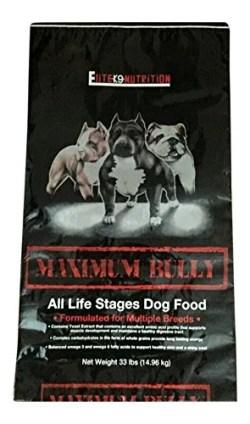 Maximum Bully Chicken and Pork Dog Food