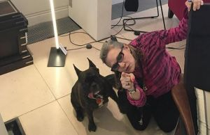 Carrie Fisher's Service Dog Adopted by Daughter