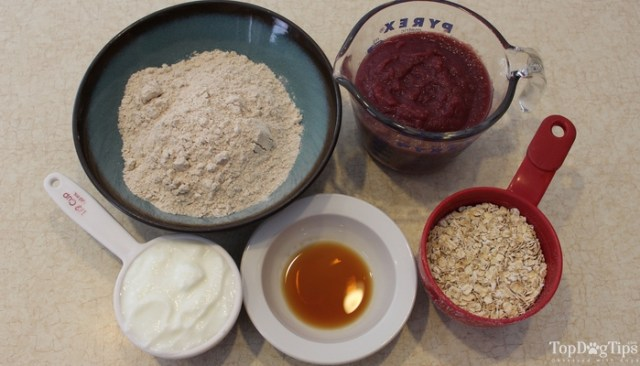 Berry Yogurt Dog Treats Recipe