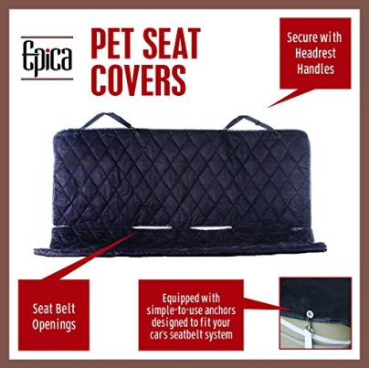 Epica dog car seat cover review