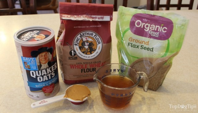Homemade Flaxseed Dog Biscuit Recipe