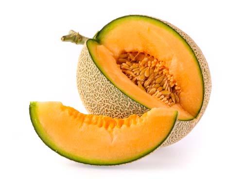 What does cantaloupe looks like