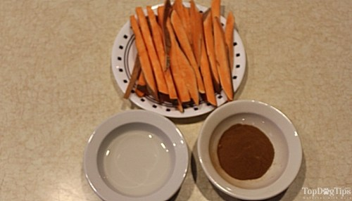 Cheap Sweet Potato Fries for Dogs