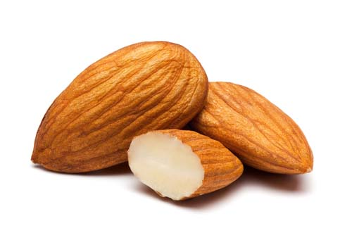 What do almonds look like?