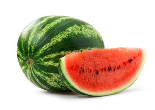 What does a watermelon look like