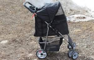VIVO Four Wheel Pet Stroller Review