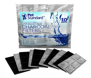PetStandard Premium Charcoal Filters for PetSafe Drinkwell Fountains