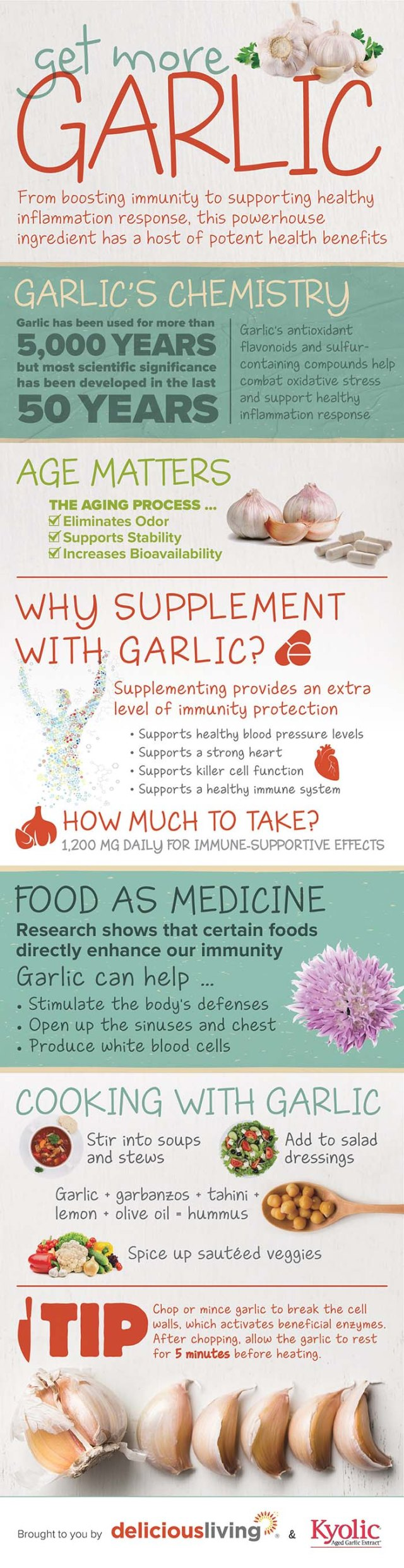 Benefits of garlic for dogs