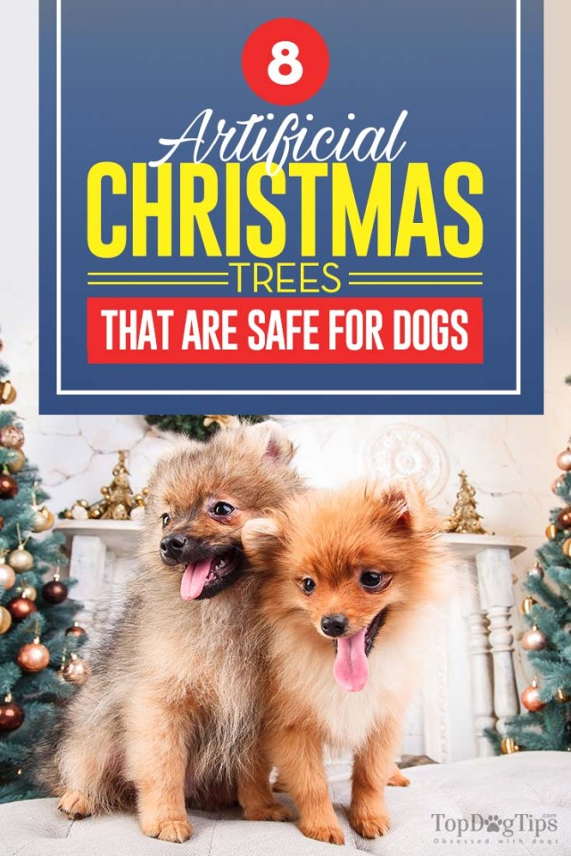 The 8 Artificial Christmas Trees That Are Safe for Dogs