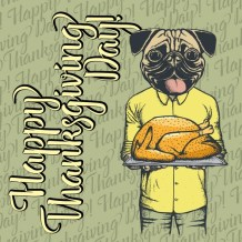 Top 10 Cute Dog Thanksgiving Cards