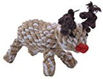 Christmas Reindeer Dog Rope Toy by Kooltail