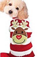 HAPEE Pet Clothes Christmas Elk Dog Sweater