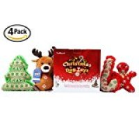 Scenereal's Small Dog Squeaky Toys Set