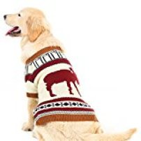 Pupteck's Reindeer Dog Sweater Pet Holiday Festive Winter Clothes