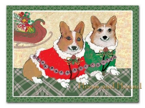 Corgi Christmas Christmas Card