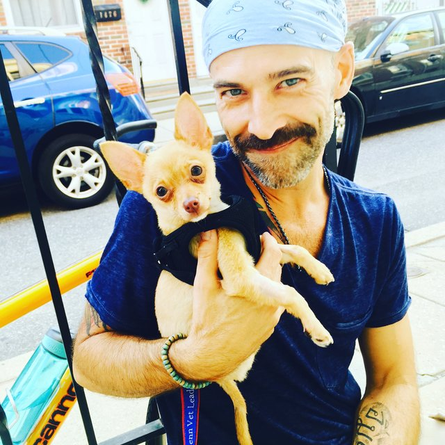 Sick Man Adopts Sick Puppy, and They Heal Each Other