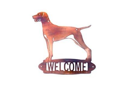 Custom Dog Welcome Sign