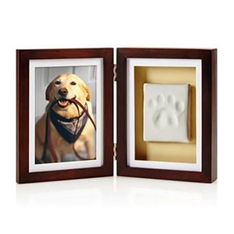 Pearhead Dog or Cat Paw Print Pet Keepsake Photo Frame