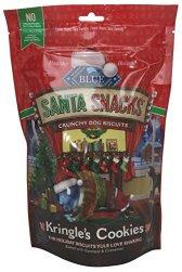Blue Buffalo's Santa Snacks Oatmeal & Cinnamon Biscuits