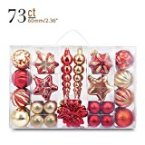 Yoland Christmas Ball Collection Shatterproof Assorted Ornaments