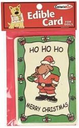 Crunchkins Crunch Edible Card, Ho, Ho, Ho, Merry Christmas