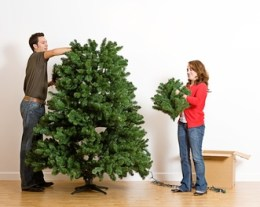 Artificial Christmas Trees That Are Safe for Dogs