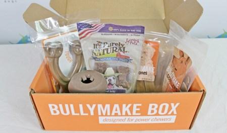 Bullymake dog subscription box