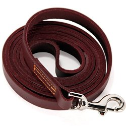 Leather Training Leash by Logical Leather