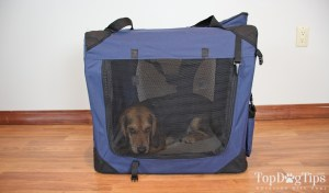EliteField Soft Dog Crate