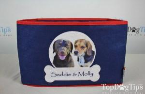 PrideBites Personalized Dog Toy Box