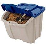 Suncast 72-Quart Food Storage Bin